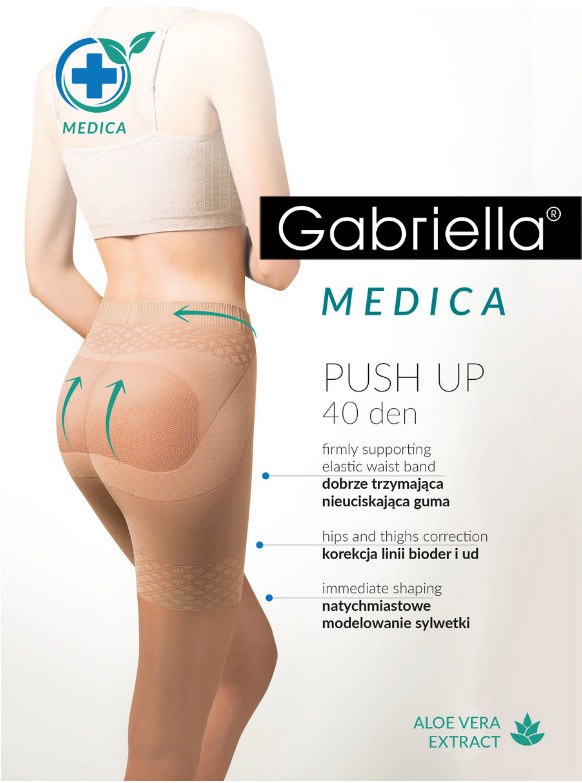 "Колготки GABRIELLA ""Medica Push-Up"" Nero 40den"