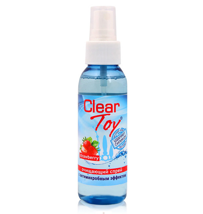 "Спрей очищающий ""Clear Toy Strawberry"", 100 мл"
